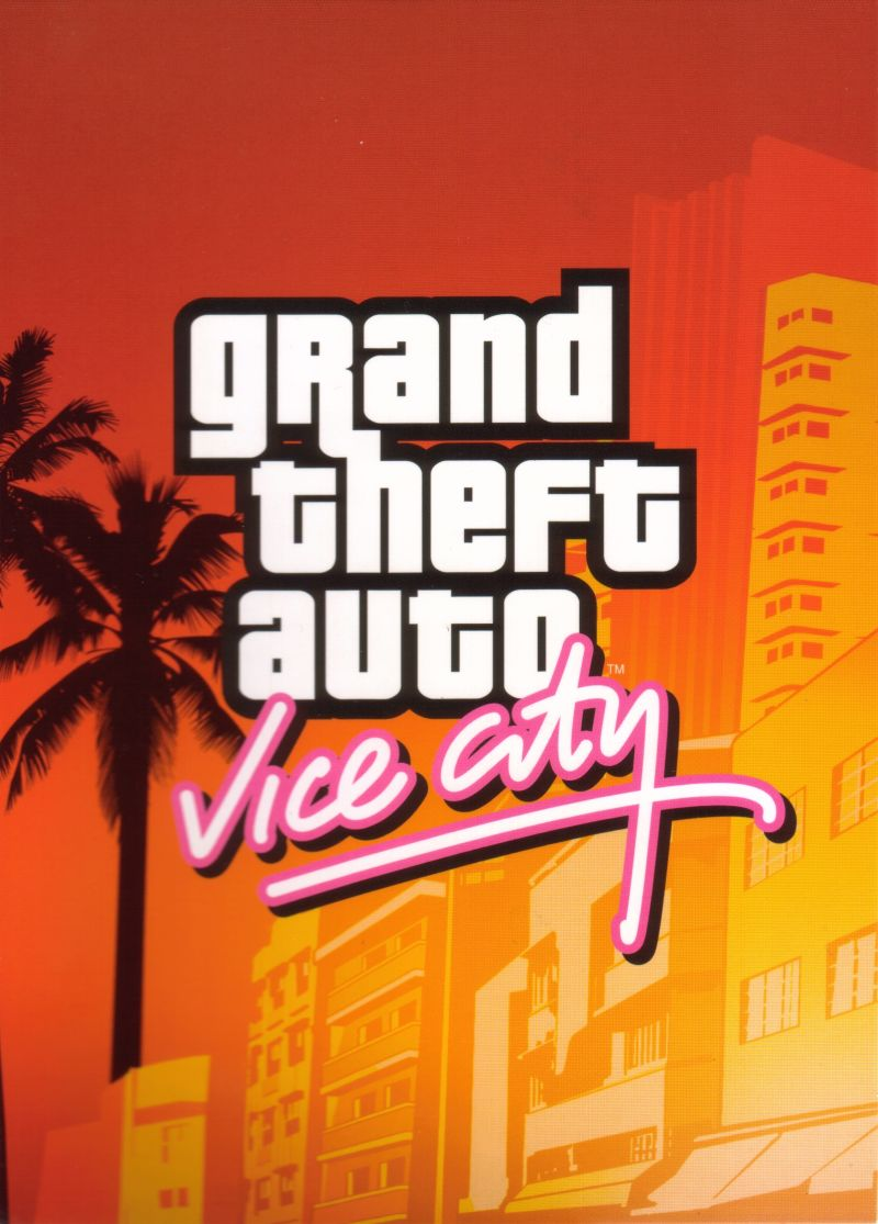 Grand Theft Auto: The Trilogy Xbox Other Digipack - GTA Vice City - Inner Right Flap