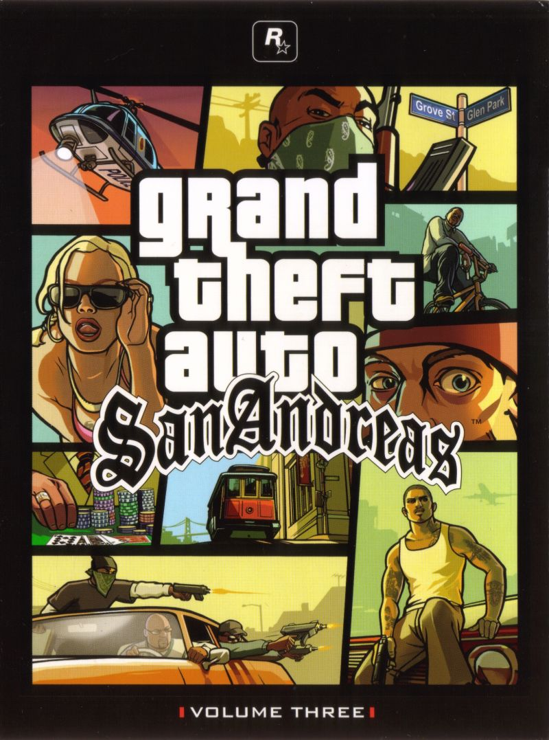 Grand Theft Auto: The Trilogy Xbox Other Digipack - GTA San Andreas - Front Cover