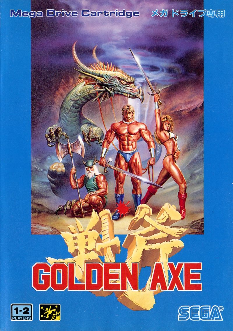 Golden Axe Genesis Front Cover