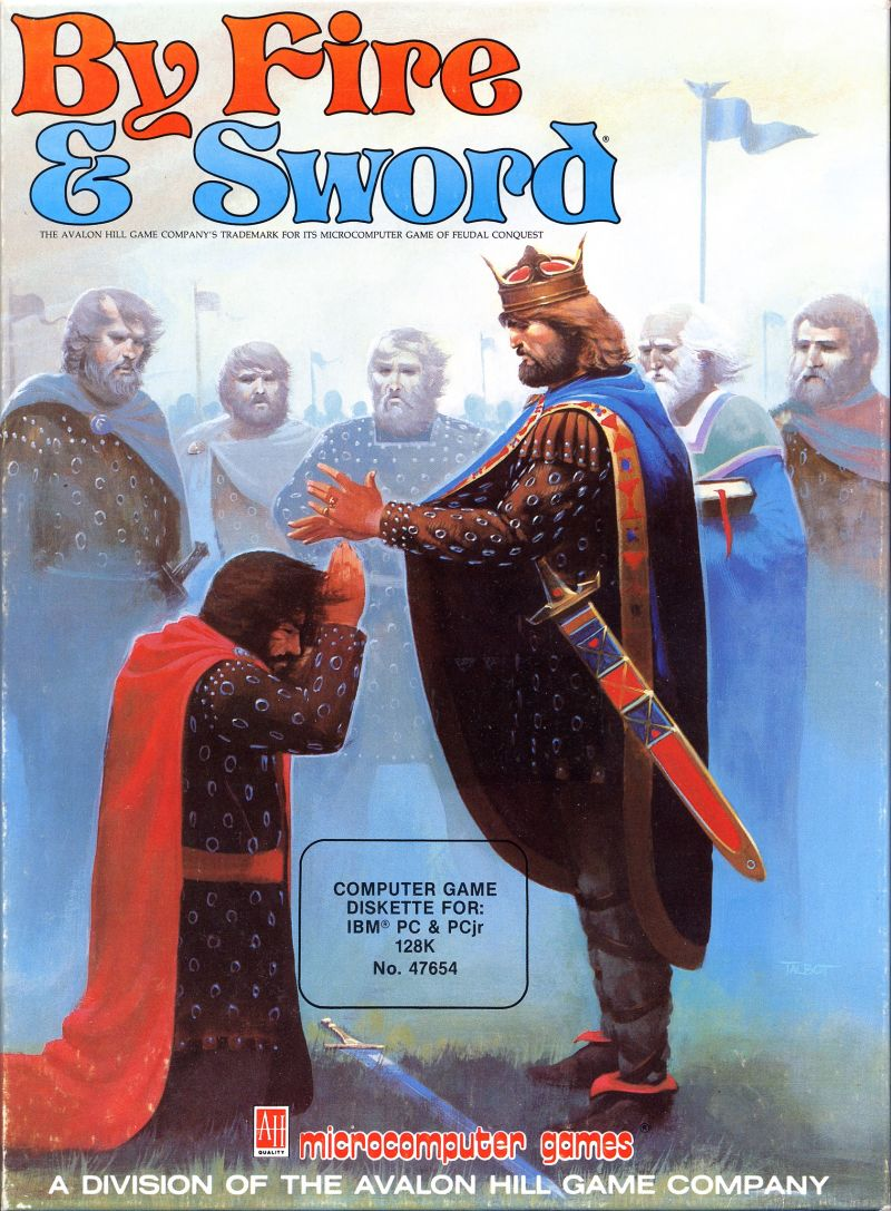 By Fire & Sword DOS Front Cover