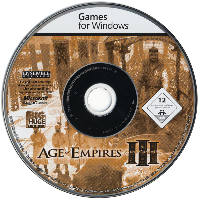 Age of Empires III: The Asian Dynasties Windows Media