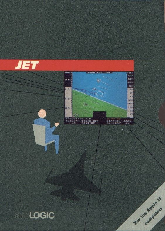 Jet Apple II Front Cover