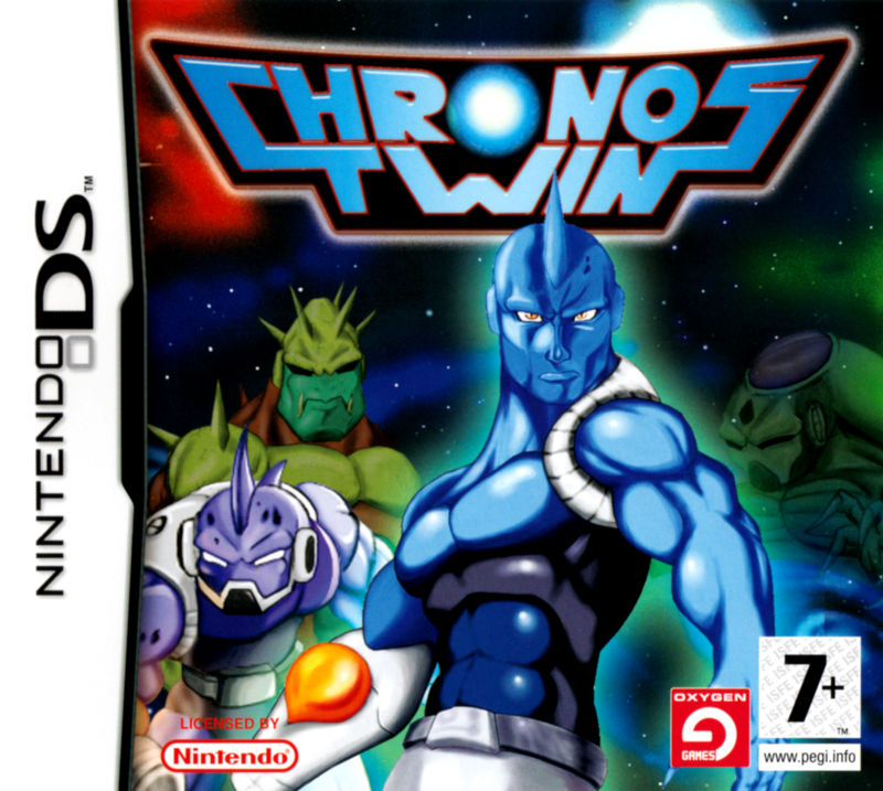 Chronos Twin Nintendo DS Front Cover