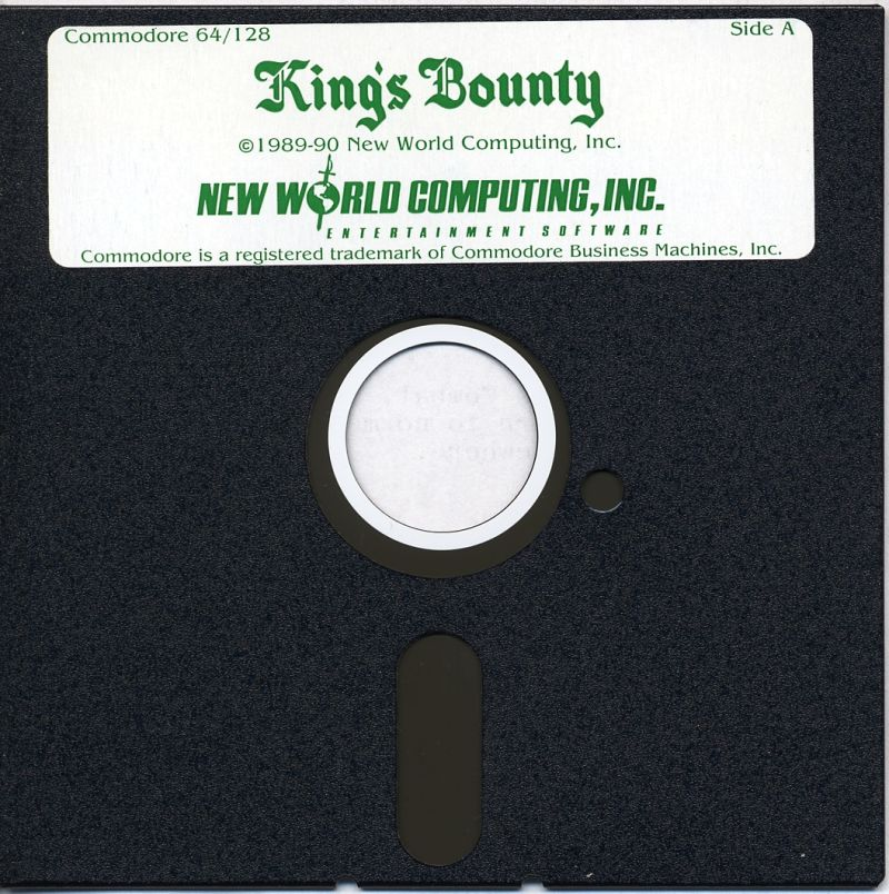 King's Bounty Commodore 64 Media