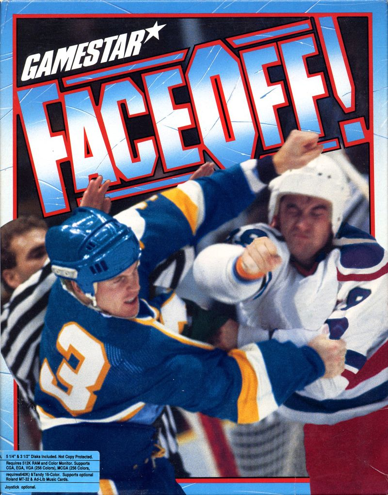 FaceOff! DOS Front Cover