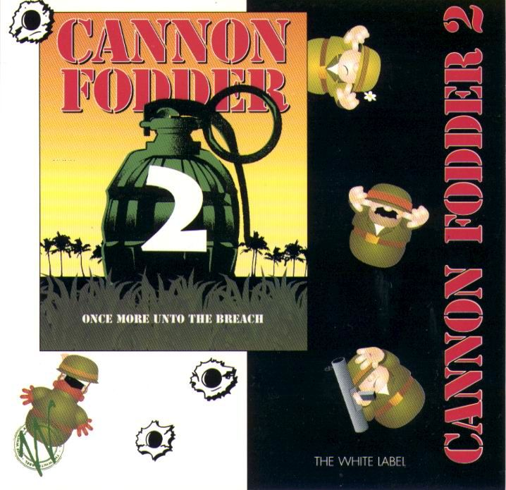 Cannon Fodder 2 DOS Other Jewel Case - Front