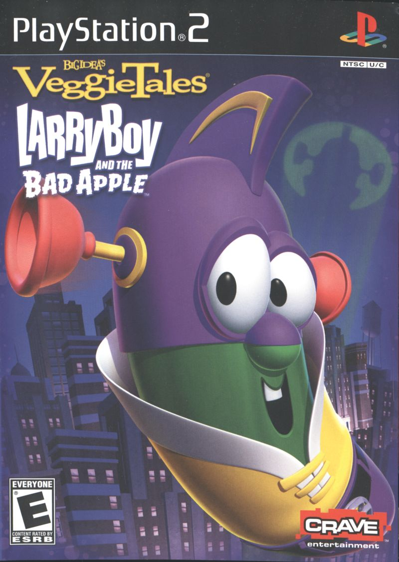 veggietales larryboy and the bad apple 2006 playstation