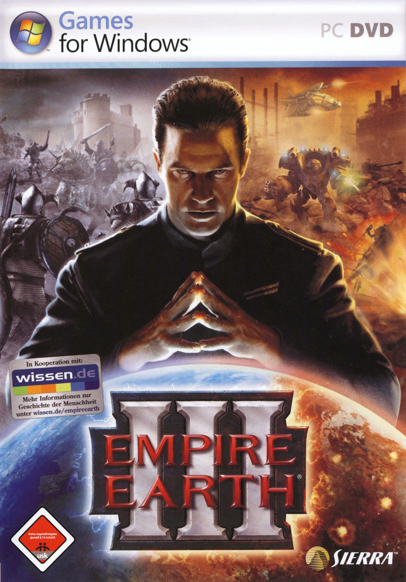 Empire Earth III Windows Front Cover