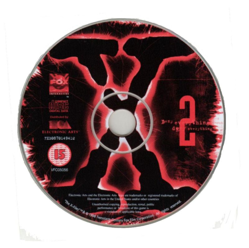 The X-Files Game Windows Media Disc 2/7