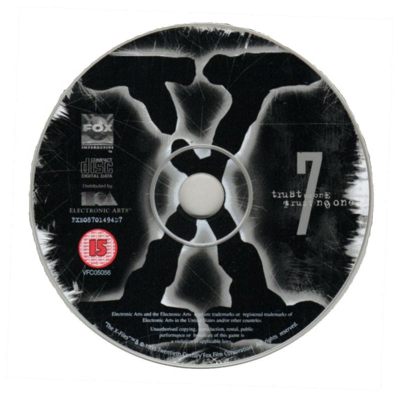 The X-Files Game Windows Media Disc 7/7