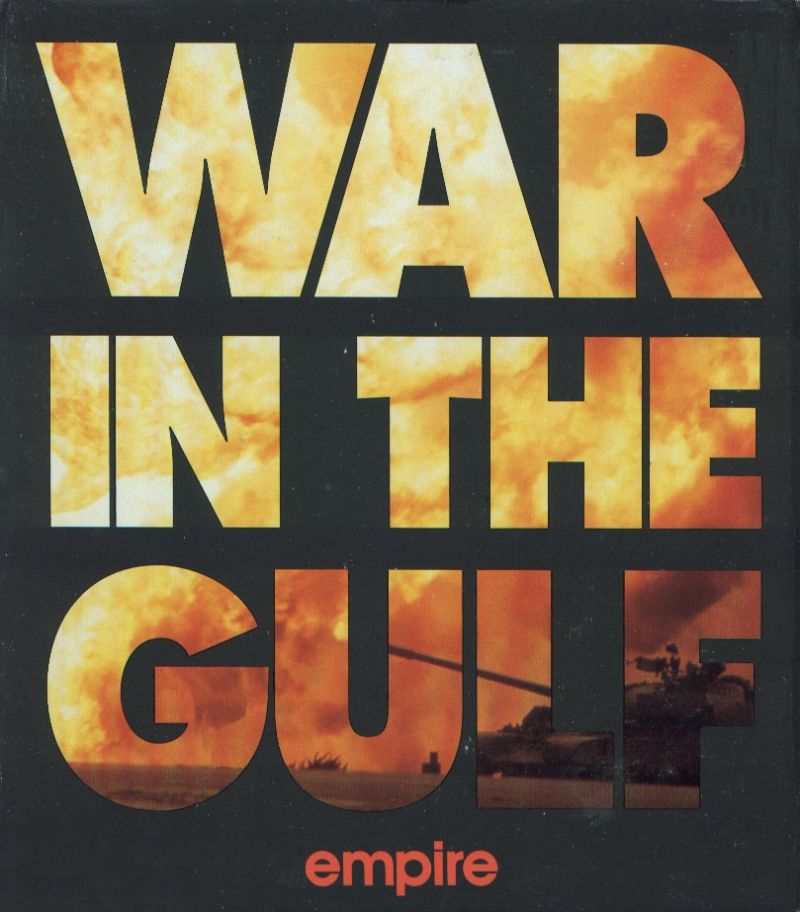 War in the Gulf DOS Front Cover