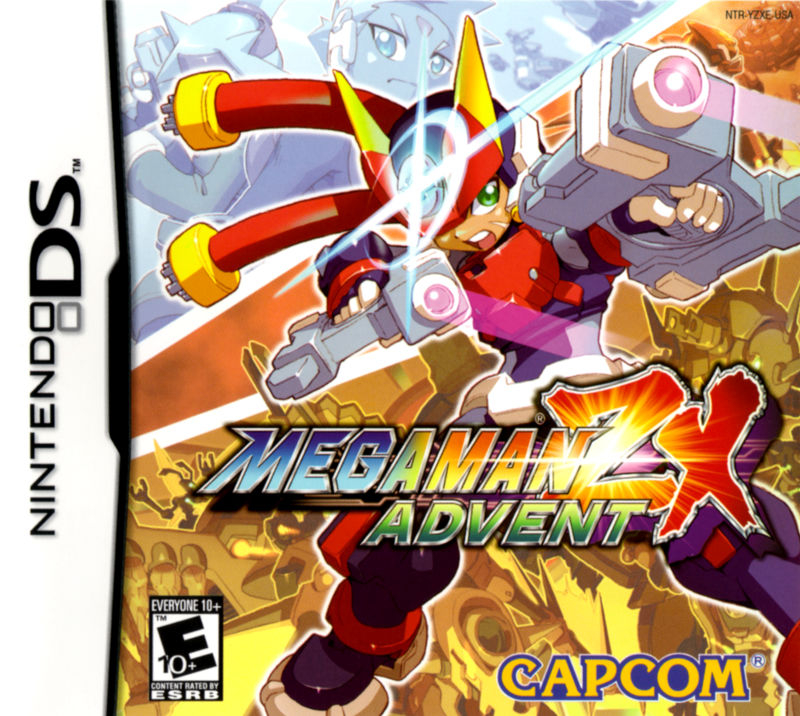 Mega Man ZX Advent Nintendo DS Front Cover