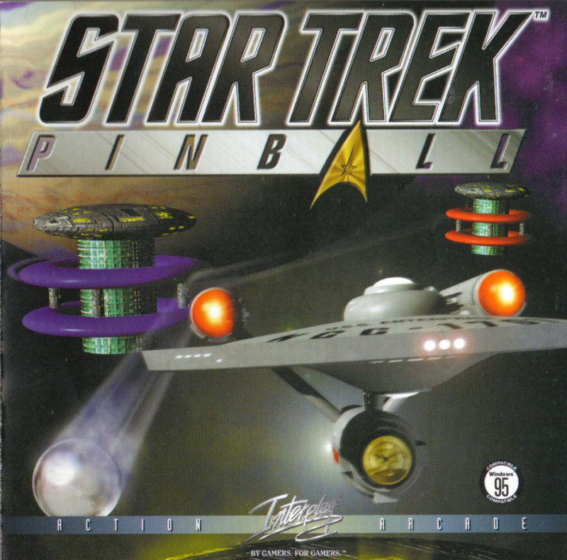 Star Trek Pinball DOS Other Jewel Case - Front