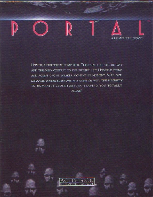 Portal PC Booter Front Cover
