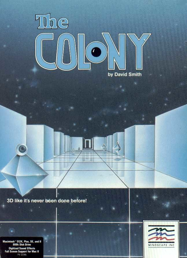 The Colony Macintosh Front Cover
