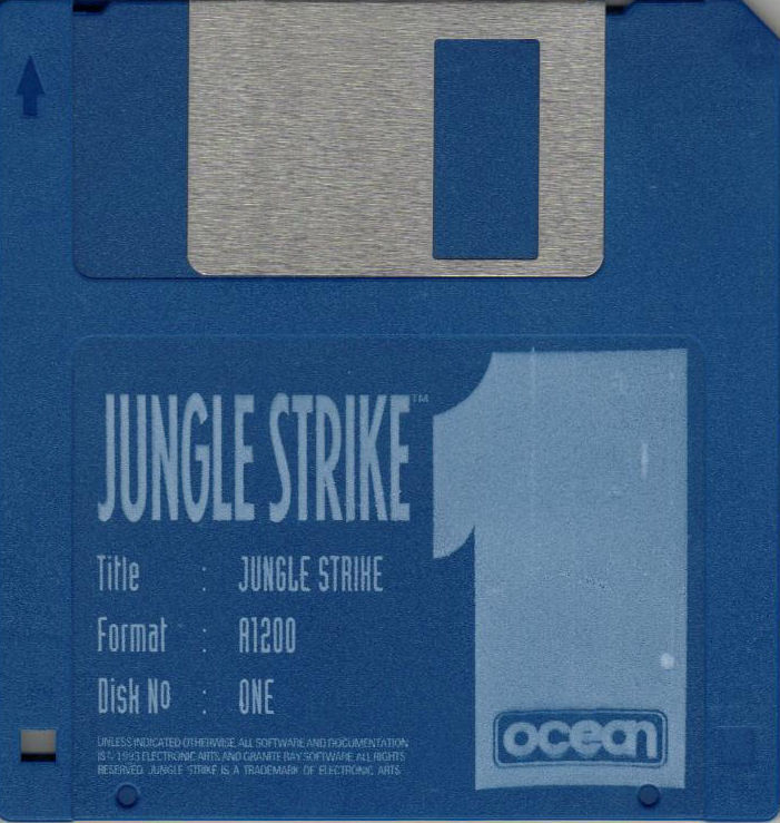Jungle Strike Amiga Media Disk 1/3