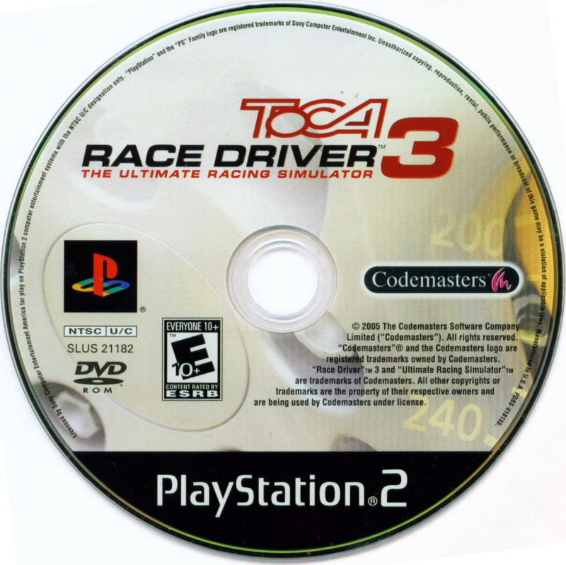 toca race driver 2 cheats ps2
