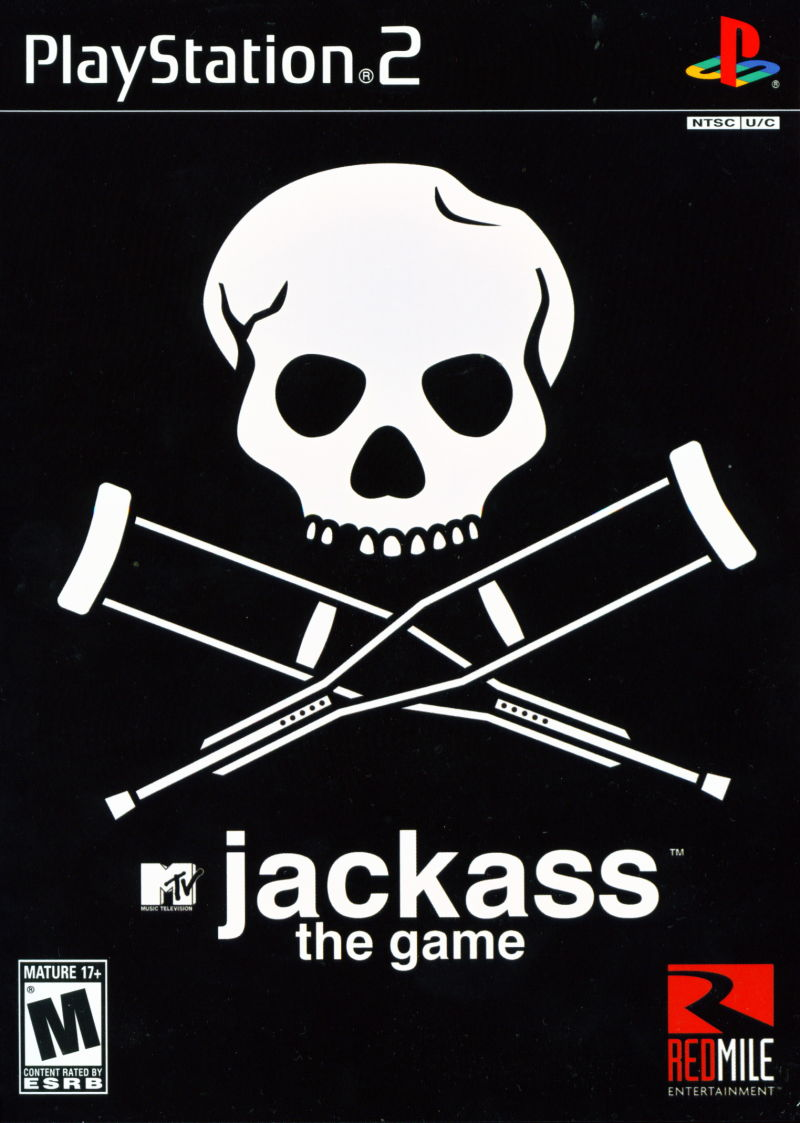 Jackass: The Game PlayStation 2 Front Cover