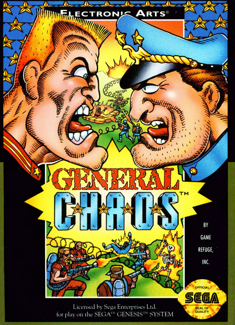 General Chaos Genesis Front Cover