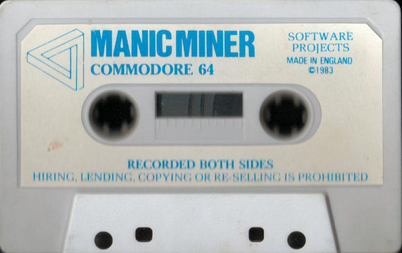 Manic Miner Commodore 64 Media