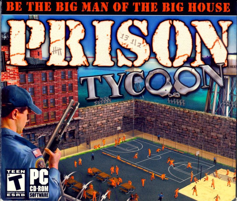 Prison Tycoon Windows Front Cover