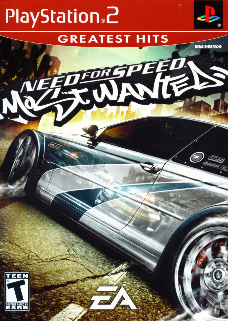 Need For Speed Most Wanted For Playstation 2 2005