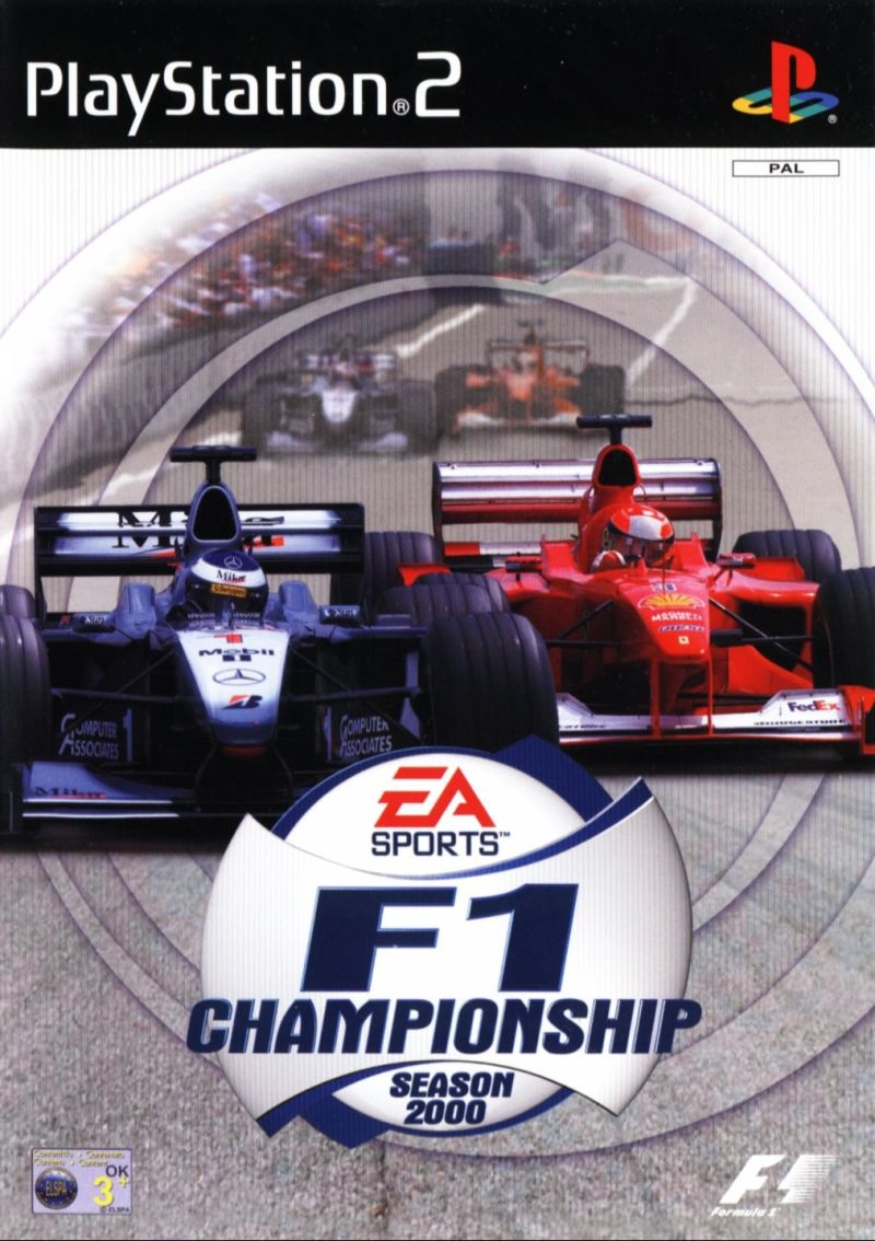 F1 Championship: Season 2000 PlayStation 2 Front Cover