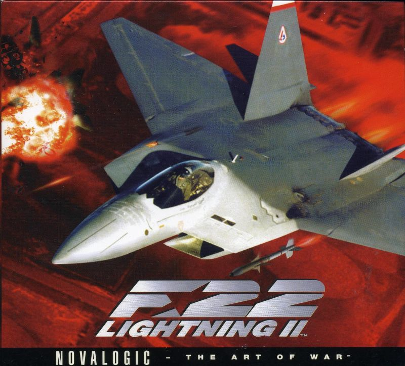 F-22 Lightning II DOS Other Sleeve Case - Front