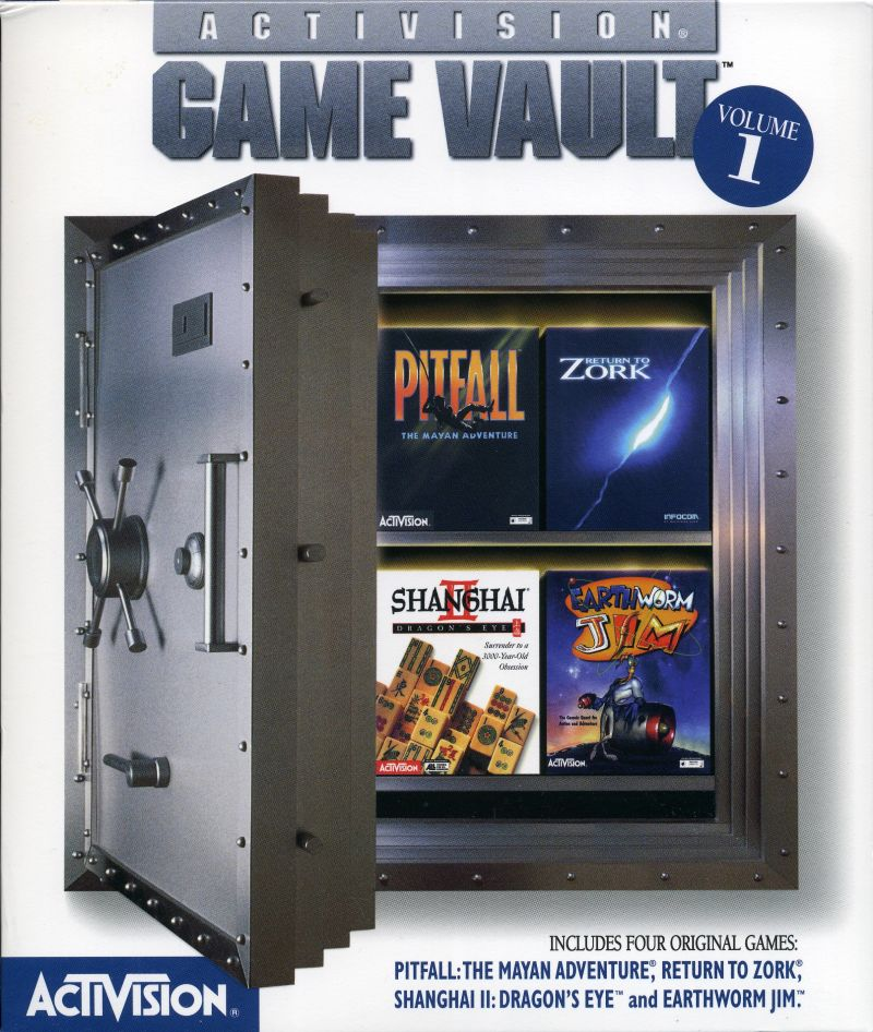 Activision Game Vault: Volume 1 Windows Front Cover
