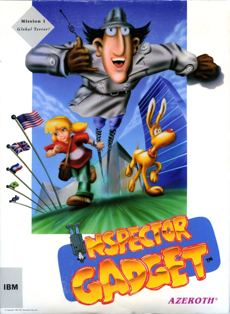 Inspector Gadget Mission 1 Global Terror For Dos 1992