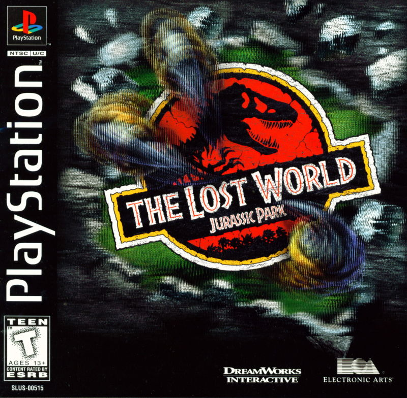 The Lost World Jurassic Park 1997 Playstation Box Cover Art Mobygames