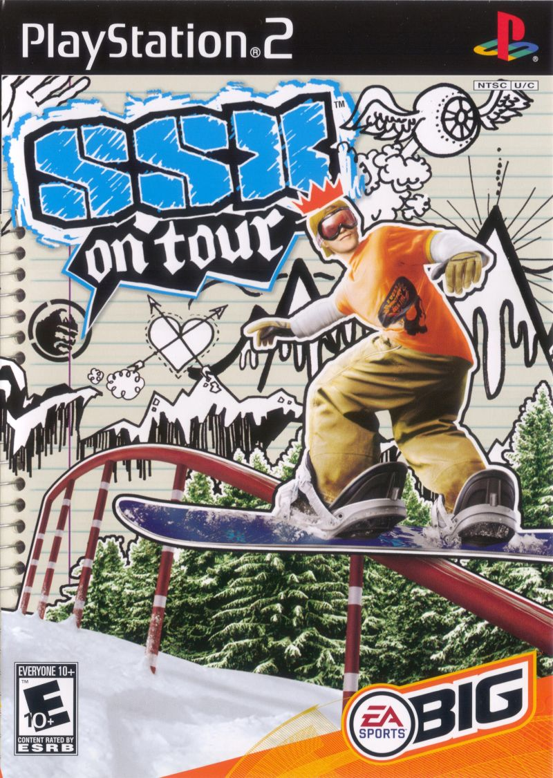 SSX on Tour PlayStation 2 Front Cover