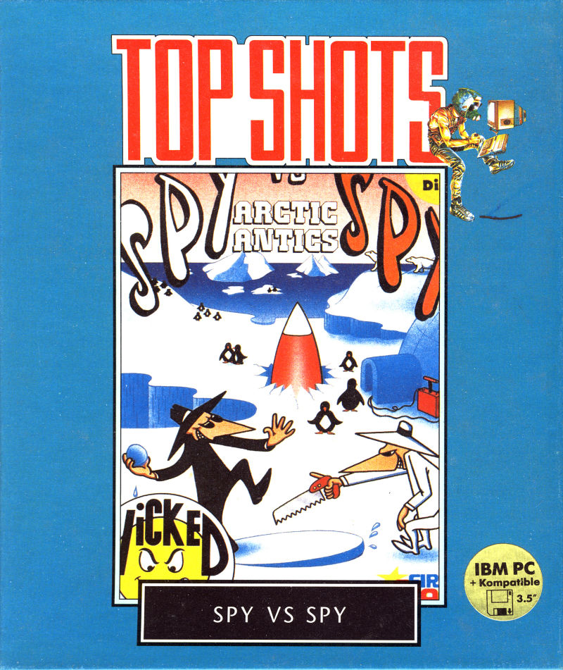 Spy vs. Spy III: Arctic Antics DOS Front Cover
