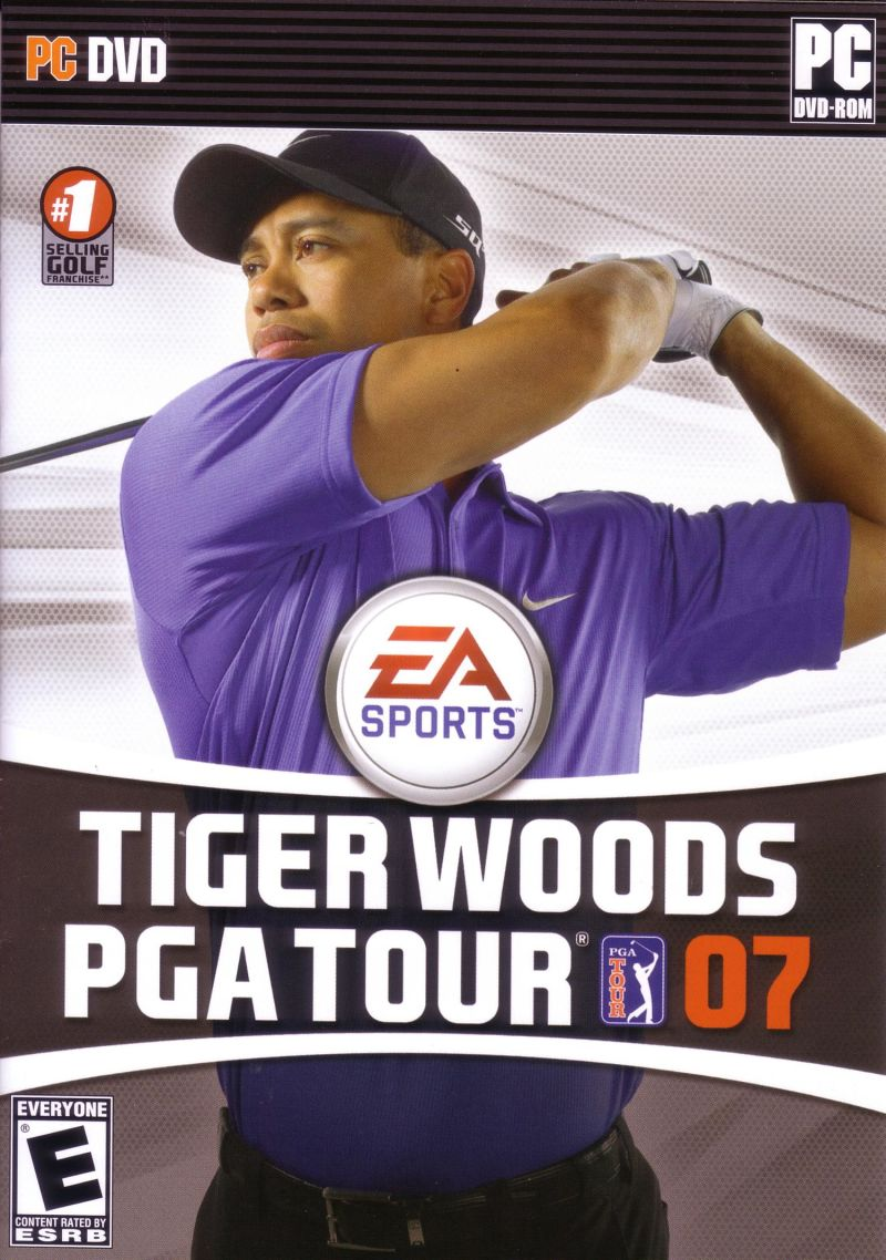 Tiger Woods PGA Tour 07 Windows Front Cover