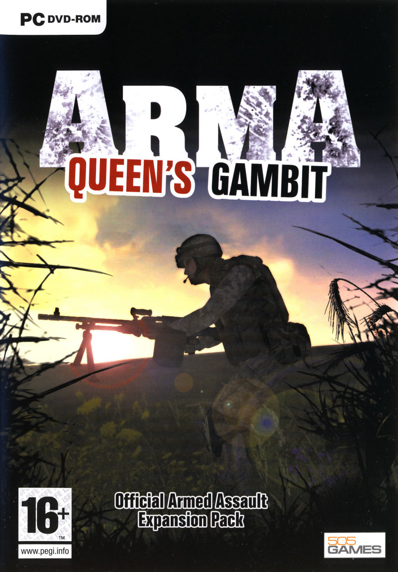 ArmA: Queen's Gambit Windows Front Cover
