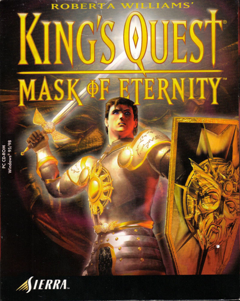 King's Quest: Mask of Eternity Windows Front Cover