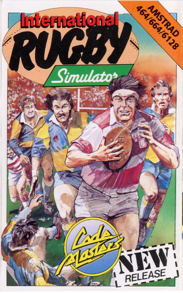 International Rugby Simulator Amstrad CPC Front Cover