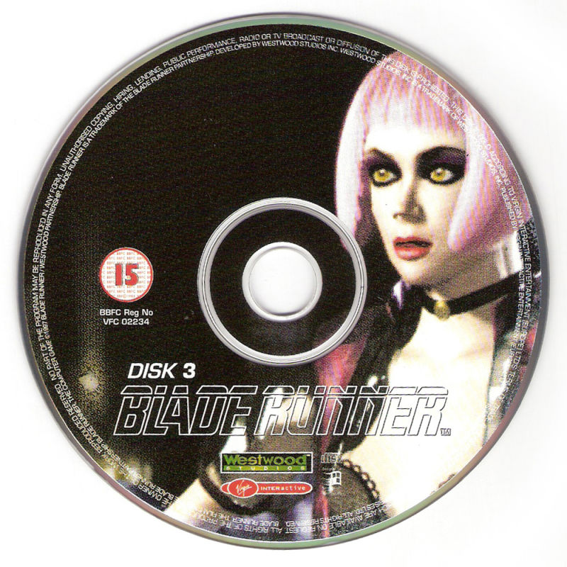 Blade Runner Windows Media Disc 3