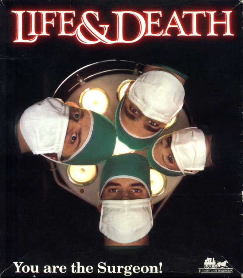 Life & Death DOS Front Cover