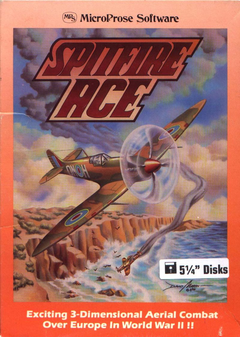 Spitfire Ace PC Booter Front Cover