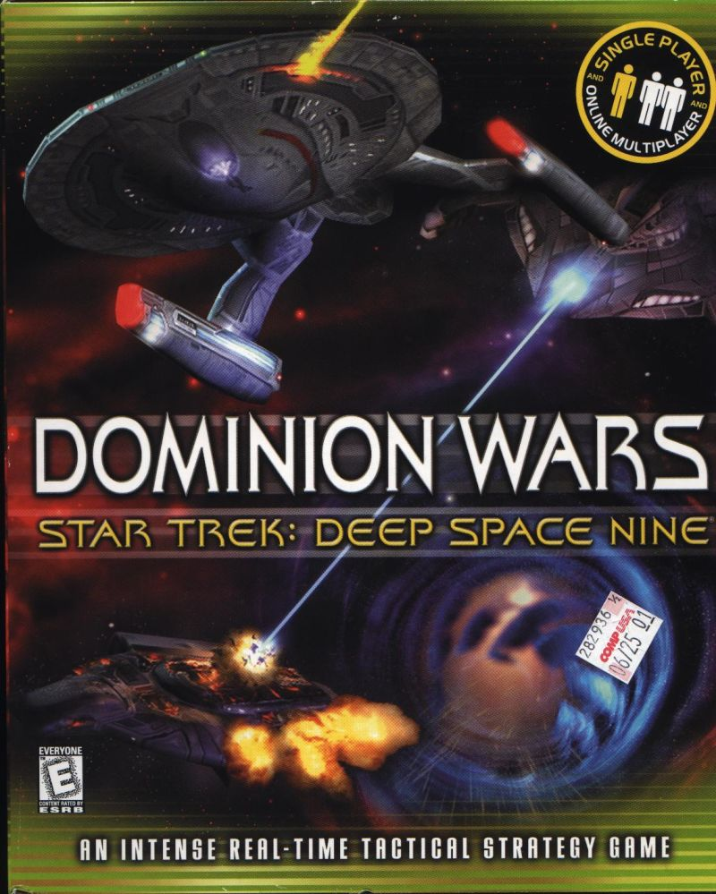 Star Trek: Deep Space Nine - Dominion Wars Windows Front Cover