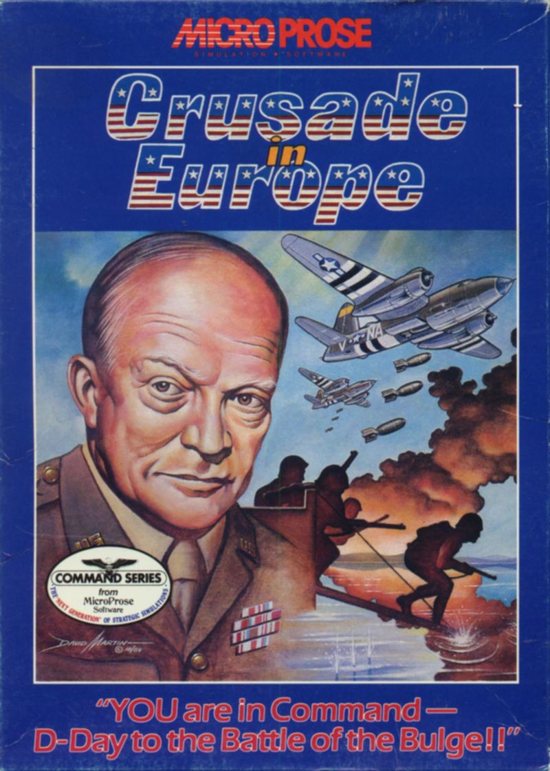 Crusade in Europe PC Booter Front Cover