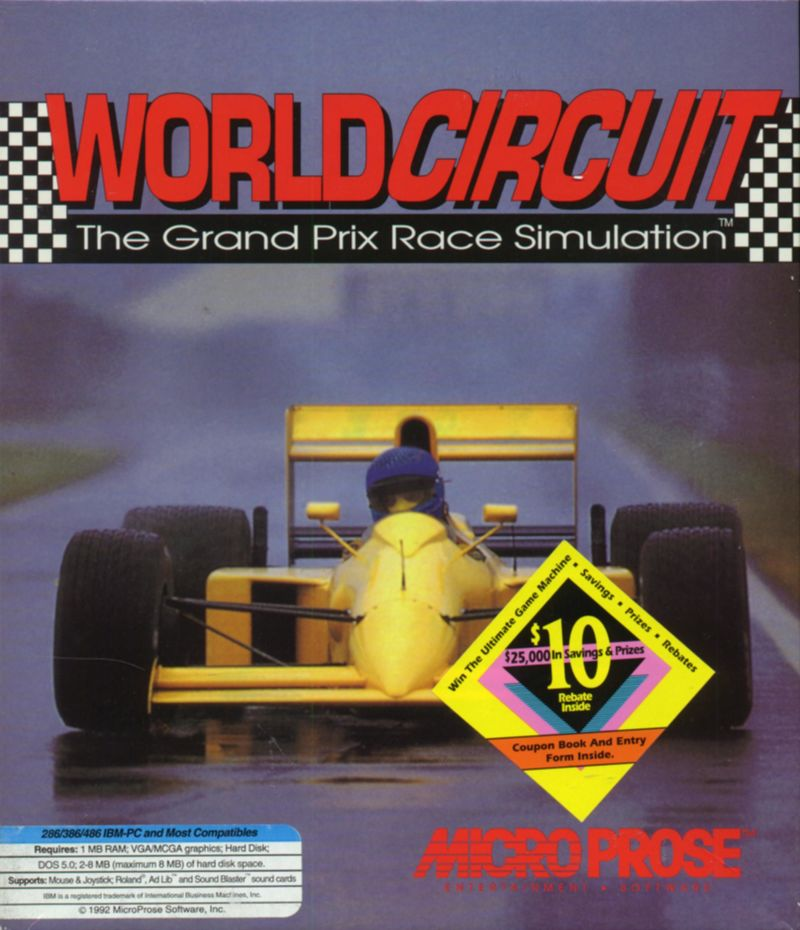 World Circuit DOS Front Cover