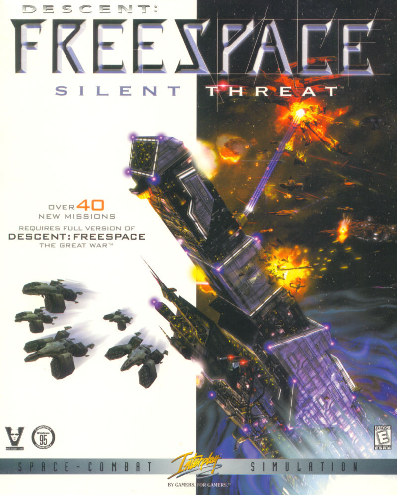 Descent: Freespace - Silent Threat Windows Front Cover