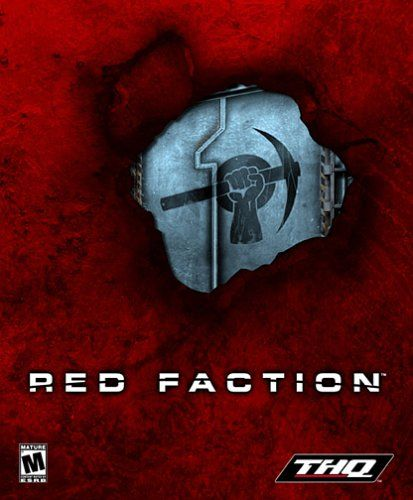 Red Faction Windows Front Cover