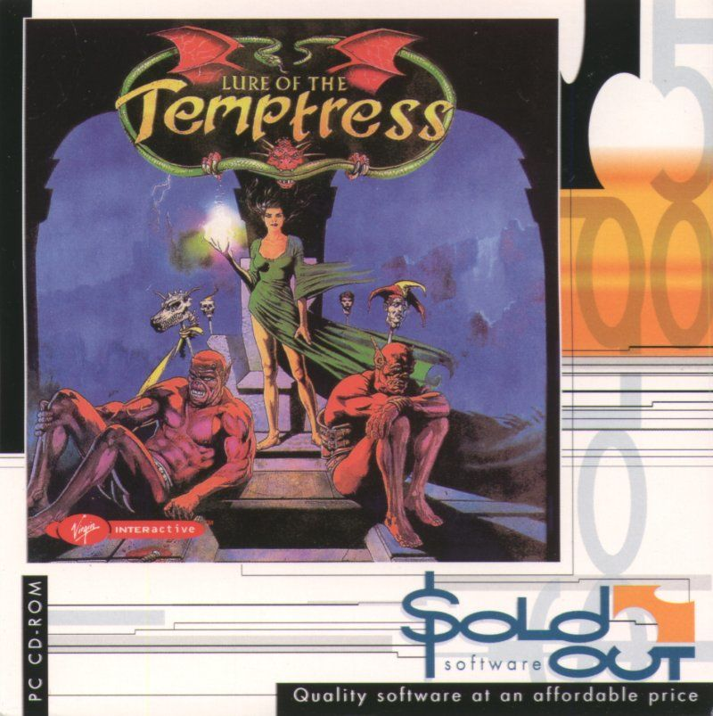 Lure of the Temptress DOS Other CD Slip - Front