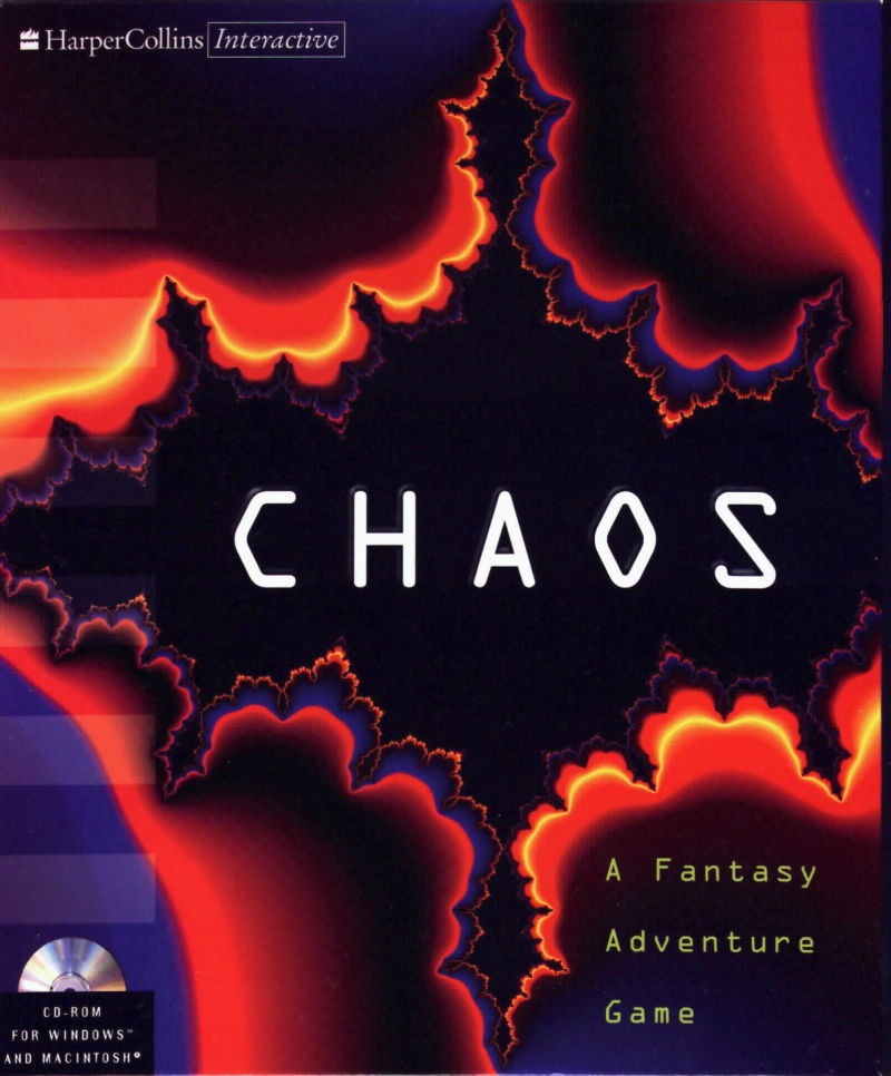 Chaos: A Fantasy Adventure Game Macintosh Front Cover
