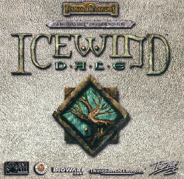 Icewind Dale Windows Other Jewel Case - Front