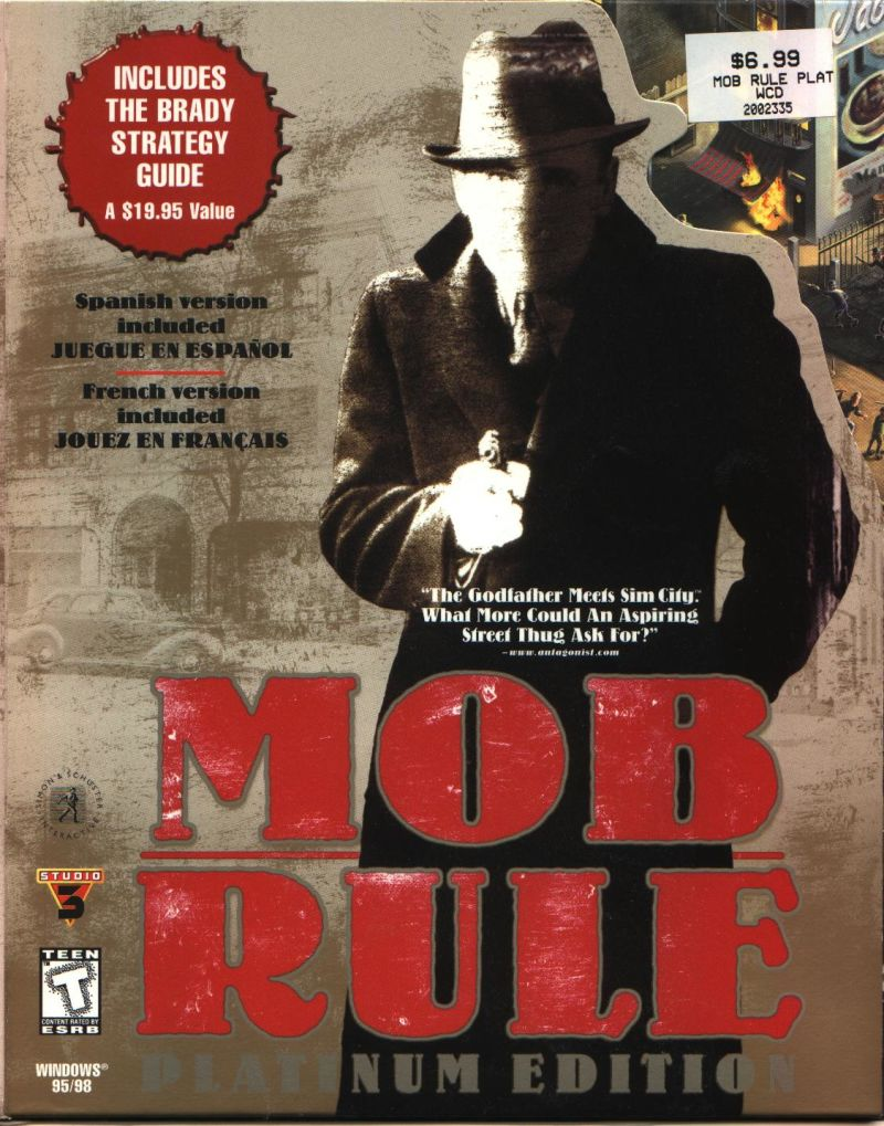 Mob Rule (Platinum Edition) Windows Front Cover
