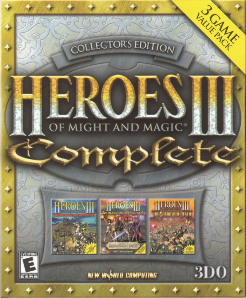 Heroes of Might and Magic III: Complete - Collector's Edition Windows Front Cover